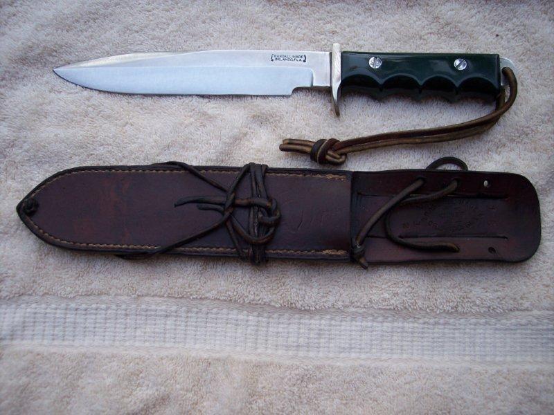 Randall model 16 dive knife - Navy seal dive knife ...